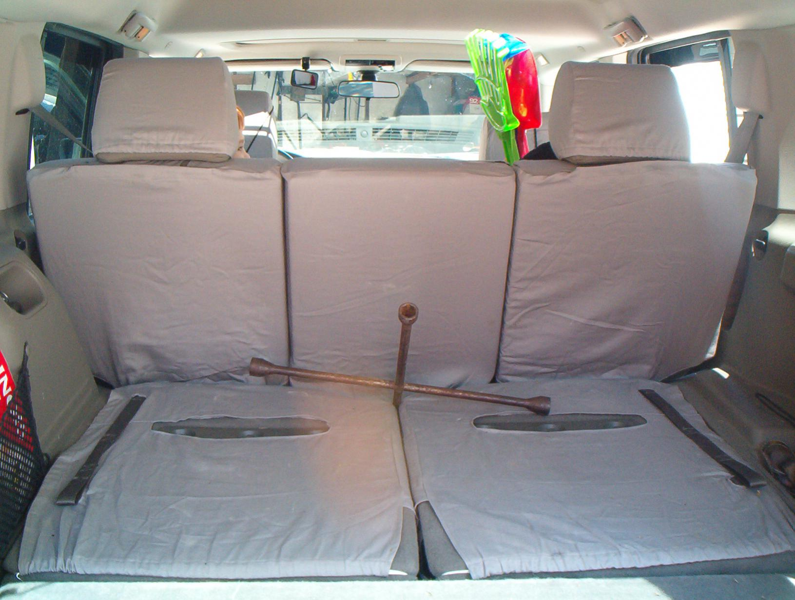 Picked Up Some Seat Covers To Cover Those Water Stains Jeep