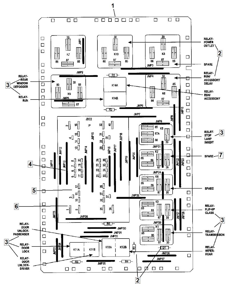2006 Jeep Commander Wiring Diagram Collection