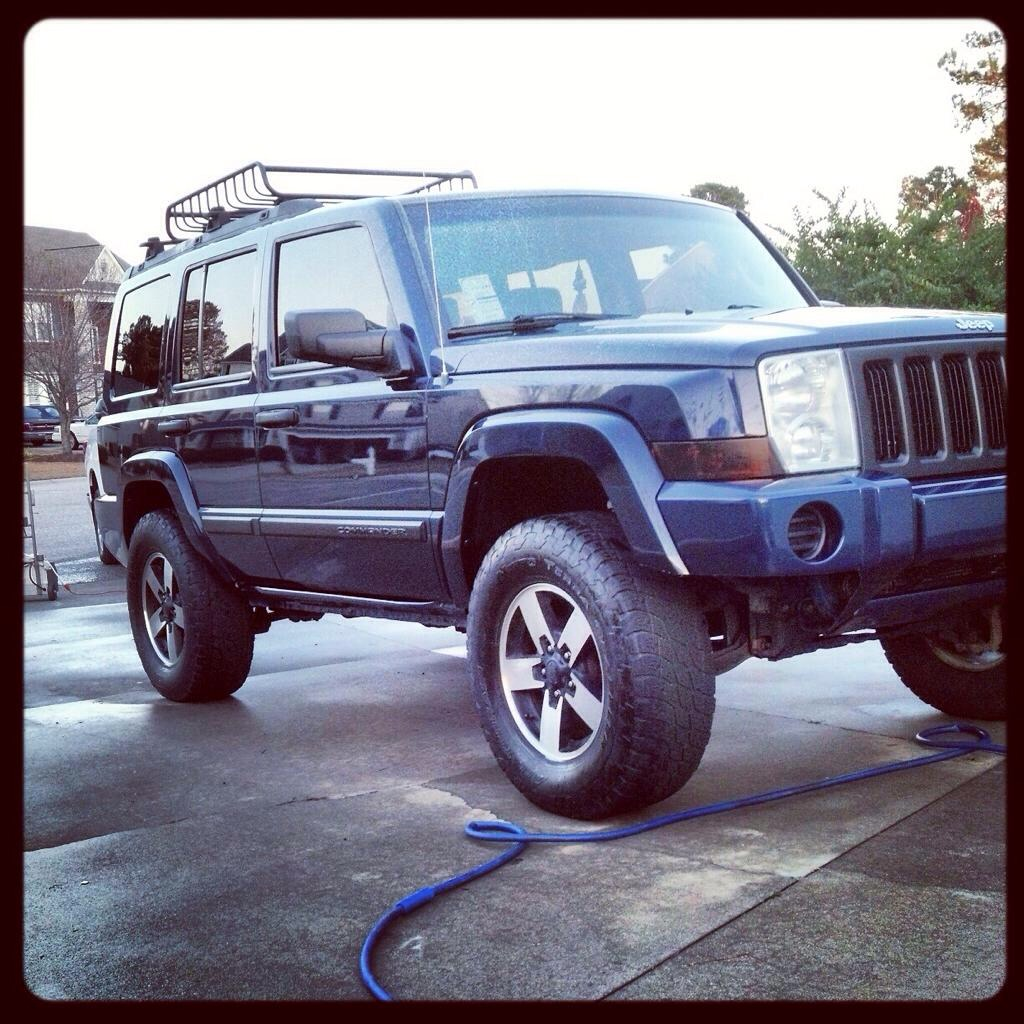 Budget Lift And Tire Size Jeep Commander Forums Jeep Commander Forum