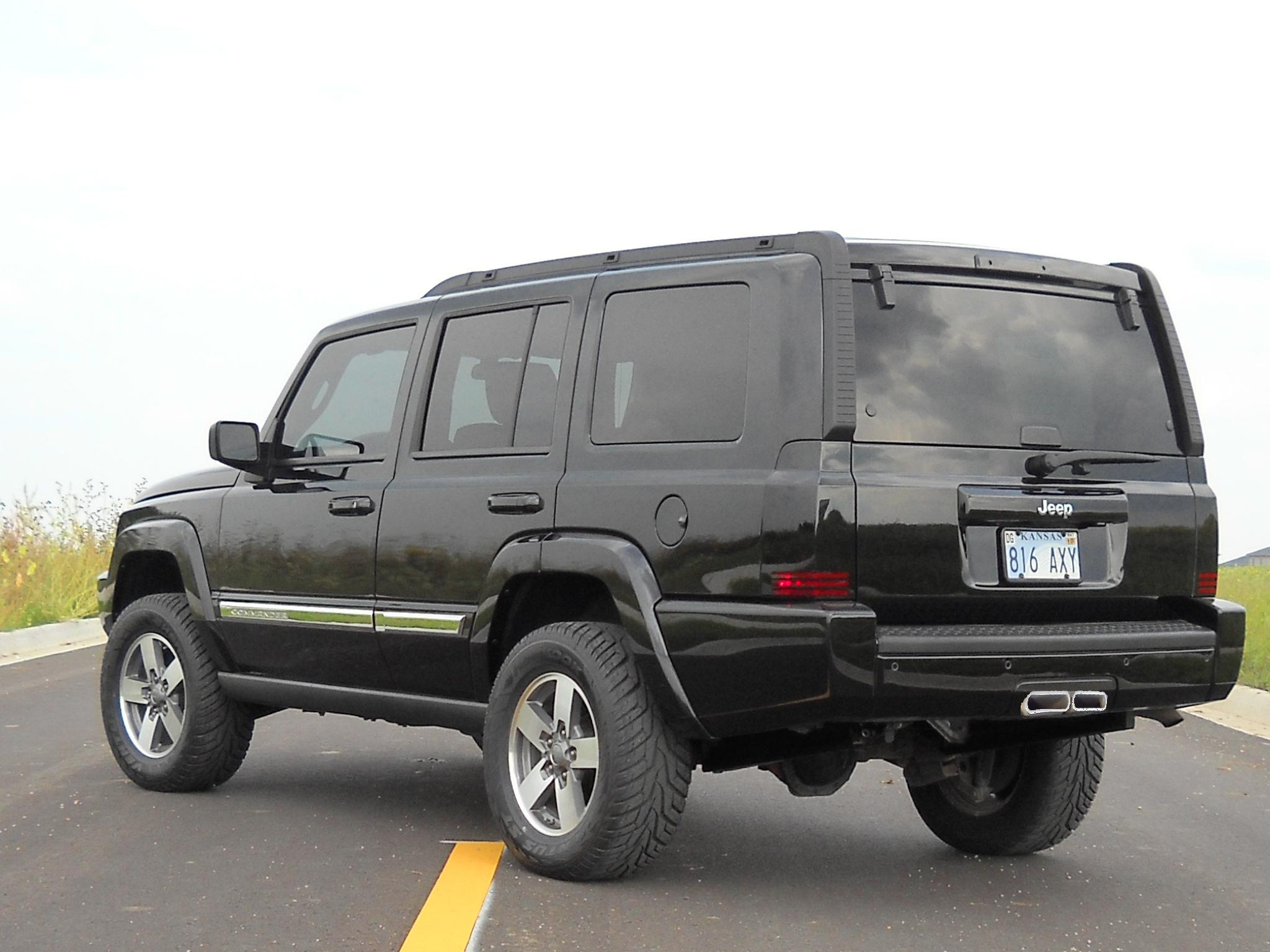 3 7 Dual Tip Hitch Exhaust Jeep Commander Forum
